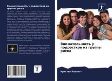 Внимательность у подростков из группы риска的封面