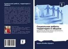 Capa do livro de Социальная работа, территория и община