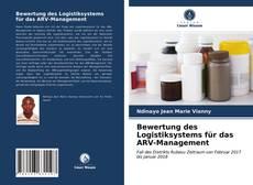 Buchcover von Bewertung des Logistiksystems für das ARV-Management