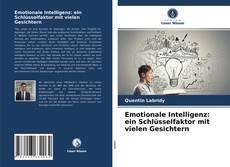 Capa do livro de Emotionale Intelligenz: ein Schlüsselfaktor mit vielen Gesichtern