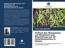 Bookcover of Einfluss des Ökosystems auf Wachstum und Entwicklung von 10 Kuherbsensorten in Kiyaka