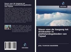 Bookcover of Steun voor de toegang tot drinkwater in plattelandsgebieden van Tsjaad