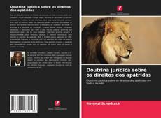 Borítókép a  Doutrina jurídica sobre os direitos dos apátridas - hoz