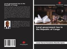 Обложка Local government law in the Republic of Congo