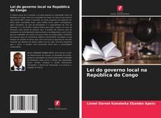 Capa do livro de Lei do governo local na República do Congo