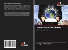 Capa do livro de Società internazionale