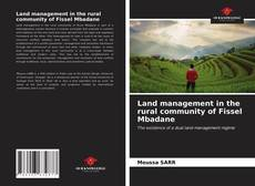 Bookcover of Land management in the rural community of Fissel Mbadane