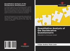 Bookcover of Quantitative Analysis of the Desiderative Questionnaire