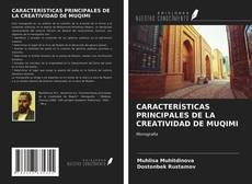 Buchcover von CARACTERÍSTICAS PRINCIPALES DE LA CREATIVIDAD DE MUQIMI