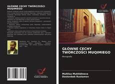 Buchcover von GŁÓWNE CECHY TWÓRCZOŚCI MUQIMIEGO