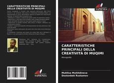 Buchcover von CARATTERISTICHE PRINCIPALI DELLA CREATIVITÀ DI MUQIMI