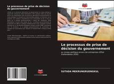 Le processus de prise de décision du gouvernement kitap kapağı