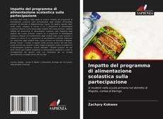 Buchcover von Impatto del programma di alimentazione scolastica sulla partecipazione