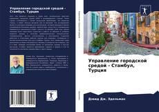 Buchcover von Управление городской средой - Стамбул, Турция