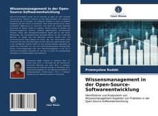 Bookcover of Wissensmanagement in der Open-Source-Softwareentwicklung
