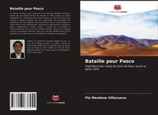Bataille pour Pasco kitap kapağı
