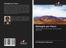 Battaglia per Pasco kitap kapağı