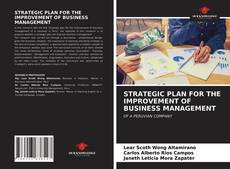 Bookcover of STRATEGIC PLAN FOR THE IMPROVEMENT OF BUSINESS MANAGEMENT
