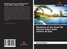 Bookcover of Modeling of the Oued Nil alluvial water table (wilaya of Jijel)