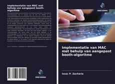 Bookcover of Implementatie van MAC met behulp van aangepast booth-algoritme