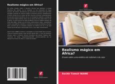Portada del libro de Realismo mágico em África?