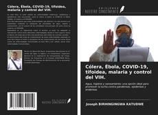 Bookcover of Cólera, Ébola, COVID-19, tifoidea, malaria y control del VIH.