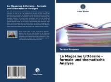 Borítókép a  Le Magazine Littéraire - formale und thematische Analyse - hoz