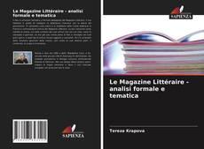 Borítókép a  Le Magazine Littéraire - analisi formale e tematica - hoz