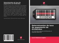 Determinantes da taxa de pagamento de dividendos的封面