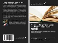Bookcover of Control del pulgón verde en tres variedades de tomate