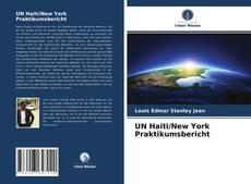 UN Haiti/New York Praktikumsbericht的封面