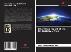 Bookcover of Internship report at the UN Haiti/New York
