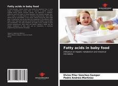 Bookcover of Fatty acids in baby food