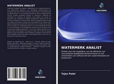 Bookcover of WATERMERK ANALIST