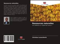 Couverture de Ressources naturelles
