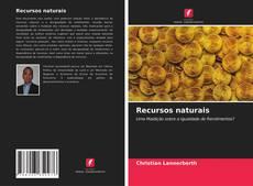 Capa do livro de Recursos naturais