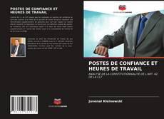 Copertina di POSTES DE CONFIANCE ET HEURES DE TRAVAIL