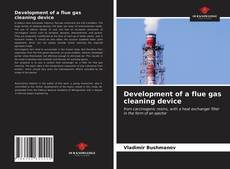 Bookcover of Development of a flue gas cleaning device
