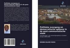 Bookcover of Politieke overgang en democratische opbouw in de post-communistische staat