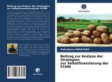 Borítókép a  Beitrag zur Analyse der Strategien zur Selbstfinanzierung der FCMN - hoz