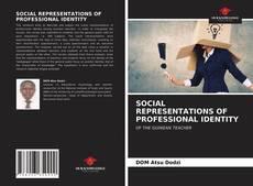 Capa do livro de SOCIAL REPRESENTATIONS OF PROFESSIONAL IDENTITY