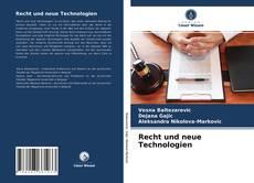 Borítókép a  Recht und neue Technologien - hoz