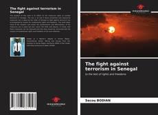 Capa do livro de The fight against terrorism in Senegal