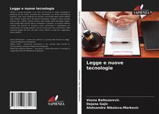 Capa do livro de Legge e nuove tecnologie