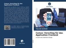 Couverture de Camus: Vorschlag für das Application Frontend