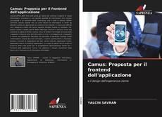 Capa do livro de Camus: Proposta per il frontend dell'applicazione