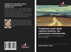 Copertina di Tradizioni orali della cultura nortina. Un patrimonio immateriale