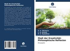 Buchcover von Modi der Kreativität: Philosophische Reflexion