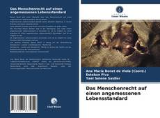 Buchcover von Das Menschenrecht auf einen angemessenen Lebensstandard