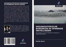 Copertina di ORGANISATORISCHE BURGERZIN IN OPENBARE INSTELLINGEN